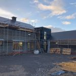 Passive house currently under construction near Tuam